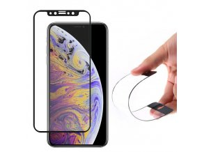 eng pl Wozinsky Full Cover Flexi Nano Glass Hybrid Screen Protector with frame for iPhone 12 mini black 62891 1