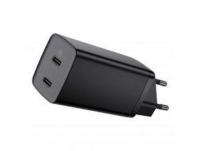 eng pl Baseus GaN2 Lite Quick Charger 2x USB Typ C 65 W Power Delivery 3 0 Quick Charge 4 SCP FCP AFC black CCGAN2L E01 67410 1