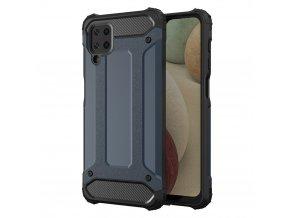 eng pl Hybrid Armor Case Tough Rugged Cover for Samsung Galaxy A12 blue 66668 1