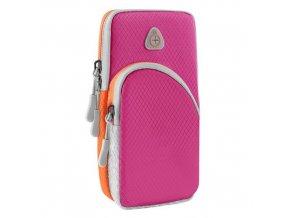 eng pm Running armband sports phone band case magenta 68225 1