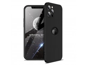 eng pl GKK 360 Protection Case Front and Back Case Full Body Cover iPhone 12 Pro black 68255 1