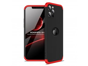 eng pl GKK 360 Protection Case Front and Back Case Full Body Cover iPhone 12 Pro black 68256 1