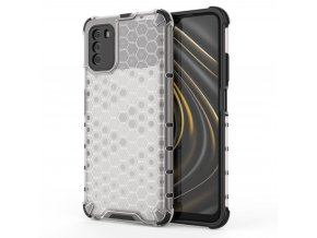 eng pl Honeycomb Case armor cover with TPU Bumper for Xiaomi Poco M3 Xiaomi Redmi 9T transparent 67277 1
