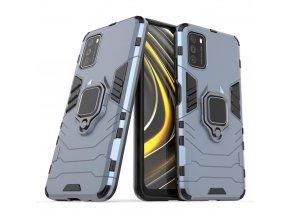 pol pl Ring Armor pancerne hybrydowe etui pokrowiec magnetyczny uchwyt Xiaomi Poco M3 Xiaomi Redmi 9T niebieski 67242 1