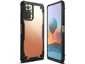 eng pl Ringke Fusion X durable PC Case with TPU Bumper for Xiaomi Redmi Note 10 Pro black FXXI0035 70119 1