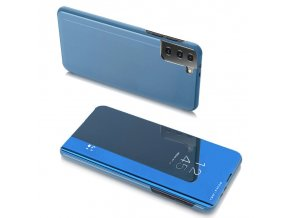 eng pl Clear View Case cover for Samsung Galaxy S21 Ultra 5G blue 66907 1