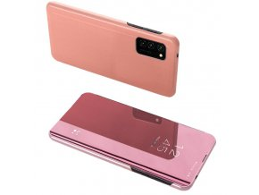 eng pl Clear View Case cover for Samsung Galaxy A72 4G pink 67219 1