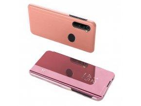 pol pl Clear View Case futeral etui z klapka Xiaomi Redmi Note 8T rozowy 56010 1