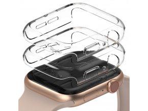 pol pl Ringke Slim Watch Case zestaw 2x etui na zegarem smartwatch Watch 6 40mm Watch 5 40mm Watch 4 40mm Watch SE 40mm przezroczysty przezroczysty S512R52 68506 1