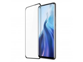 eng pl Dux Ducis 3D Tempered Glass curved Screen Protector Full Coveraged with Frame for Xiaomi Mi 11 black case friendly 68235 1