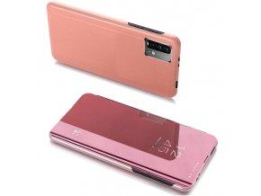 pol pl Clear View Case futeral etui z klapka Xiaomi Poco M3 Xiaomi Redmi 9T rozowy 66914 1
