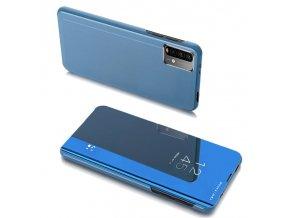 pol pl Clear View Case futeral etui z klapka Xiaomi Poco M3 Xiaomi Redmi 9T niebieski 66913 1
