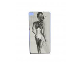 Plastový kryt na Huawei P8 Lite Girl