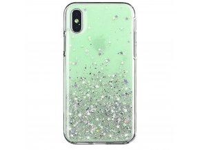eng pl Wozinsky Star Glitter Shining Cover for Samsung Galaxy A71 green 59151 1