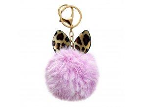eng pl Fluffy ball pendant pink 72137 1 (1)