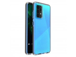 pol pl Spring Case pokrowiec zelowe etui z kolorowa ramka do Samsung Galaxy A52 5G A52 4G czarny 70700 1