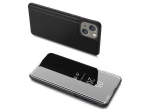 eng pl Clear View Case cover for iPhone 13 black 74698 1