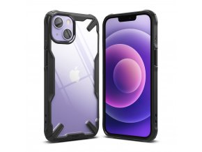 eng pl Ringke Fusion X durable PC Case with TPU Bumper for iPhone 13 black FX545E55 76632 1