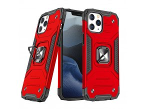 eng pl Wozinsky Ring Armor Case Kickstand Tough Rugged Cover for iPhone 13 mini red 73351 1