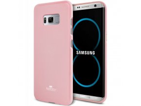 perleťový kryt na Samsung Galaxy S8 světle růžový