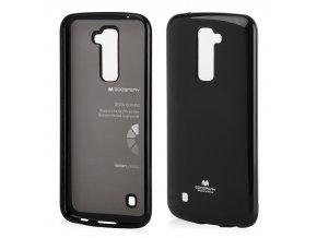 perleťový kryt na LG K 10 černý