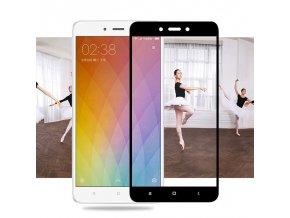 3D Tvrzené sklo na Xiaomi Redmi 4X s rámečkem černé