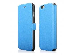 Flipové pouzdro na iPhone 6 Plus modré