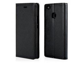 Magnetické flipové pouzdro pro Huawei P8 lite černé