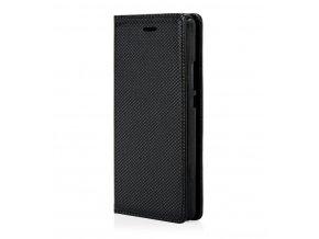 Magnetické flipové pouzdro na Sony Xperia XA - černé  + Doprava zdarma