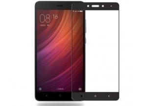 2.5D tvrzené sklo pro Xiaomi note 4 včetně rámečku černé 3