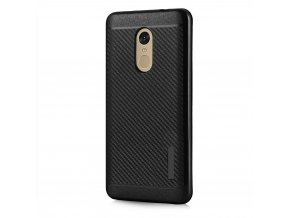 Odolný karbonový kryt na Xiaomi Redmi note 4 černý