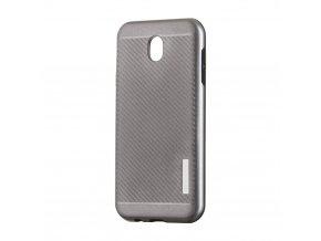 Odolný karbonový kryt na Samsung J5 2017 šedý