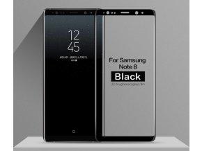 3d tvrzené sklo na samsung note 8 černé