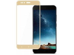 3D tvrzené sklo na Xiaomi MI A1 zlaté