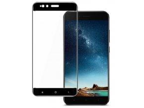 3D tvrzené sklo na Xiaomi MI A1 černé