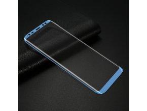 3D tvrzené sklo na Samsung Galaxy S8 modré