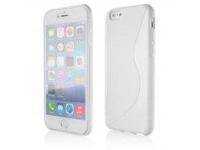 Silikonový S Case kryt na Iphone 6 plus bílý