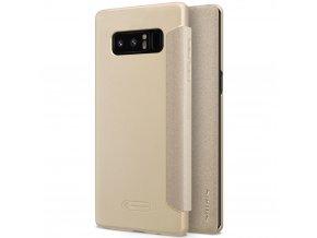 Pouzdro Nillkin Sparkle na Samsung Galaxy Note 8 zlaté 1