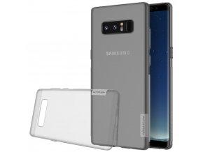 Nillkin Nature gelový kryt na Samsung Galaxy Note 8 šedý 1