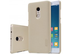 Obal Nillkin Super Frosted Shield na Xiaomi Redmi Note 4 zlatý 1