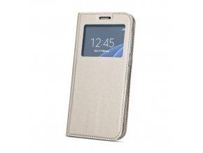Magnetické pouzdro s okénkem na Sony Xperia XA1 Ultra zlaté 1