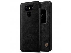 Pouzdro Nillkin Qin Leather s okénkem na LG G6 černé 1