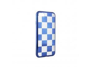 Silikonové šachové pouzdro na Samsung A3 2017 modré