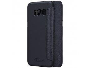 Pouzdro Nillkin Sparkle na Samsung Galaxy S8 Plus černé 1