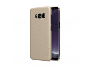Obal Nillkin Super Frosted Shield na Samsung Galaxy S8 Plus zlatý 1