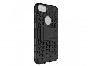 Outdoor odolný obal se stojánkem na iPhone SE 2020 / iPhone 8 / iPhone 7 - černý