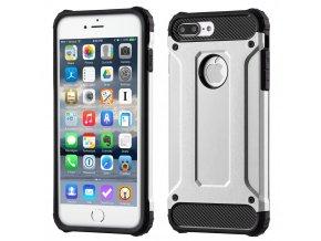 Armor kryt na iPhone 7 Plus, iPhone 8 Plus stříbrný 1