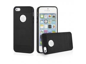 Ohebný carbon kryt na iPhone 5 SE