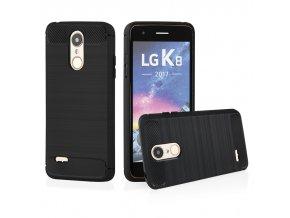 Ohebný carbon kryt na LG K8 2017