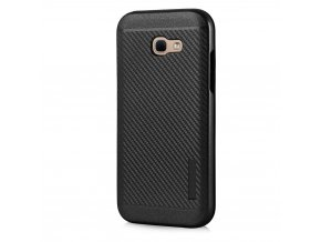 Odolný karbonový kryt na Samsung Galaxy A3 2017 černý 1